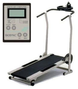 Biosync Foldable Manual Treadmill