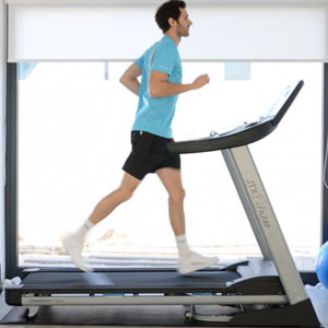 JTX Sprint-7 Folding Motorised Treadmil