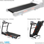 JLL T350 Digital Folding Treadmill