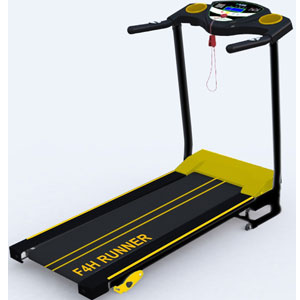 F4H Rapid JK1603 Folding Treadmill Exercise Running Machine
