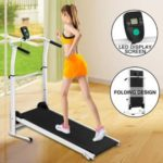 Fitnessclub Folding Manual Treadmill