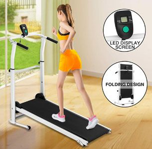 Fitnessclub Manual Treadmill