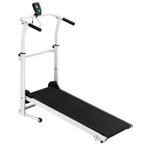 Fitnessclub Folding Manual Treadmill Walking Machine