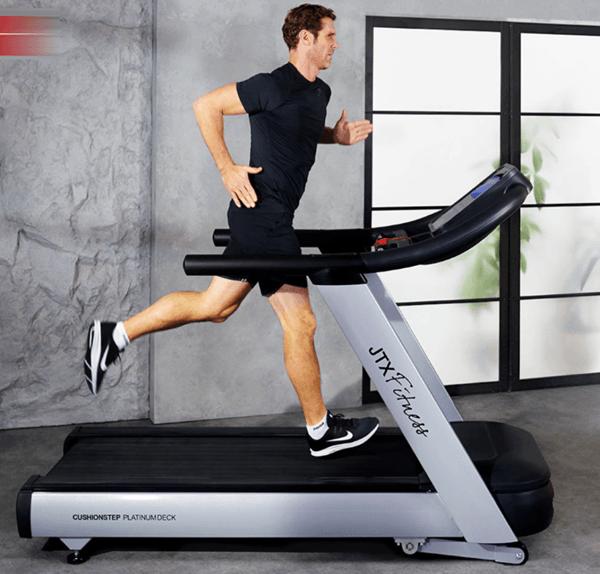 "JTX Club-Max 10"" LCD blue screen Commercial Treadmill"