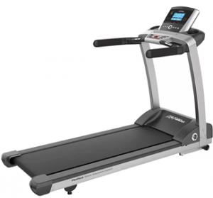 Life Fitness T3 Treadmill with the Track console